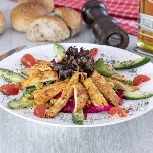Piliç ilik Salata
